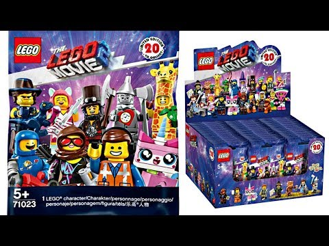 The LEGO Movie 2 Minifigures Series - This changes EVERYTHING... again.