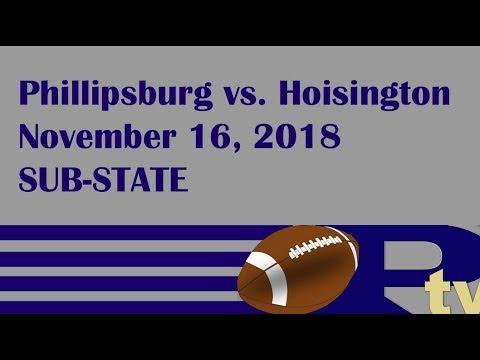Phillipsburg Football vs. Hoisington (Sub-State 2018)