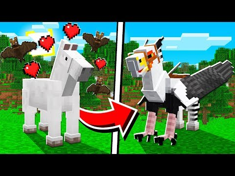 How to UPGRADE HORSES in Minecraft TUTORIAL!