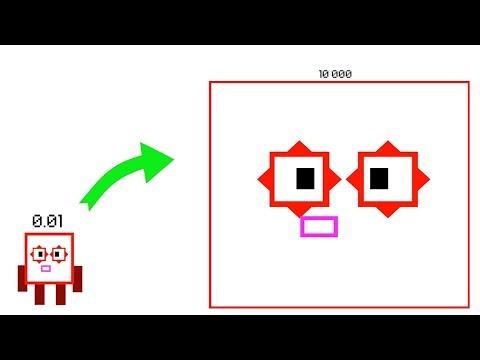 Numberblocks Retro Squares!Numberblocks Band Retro 0-60 |