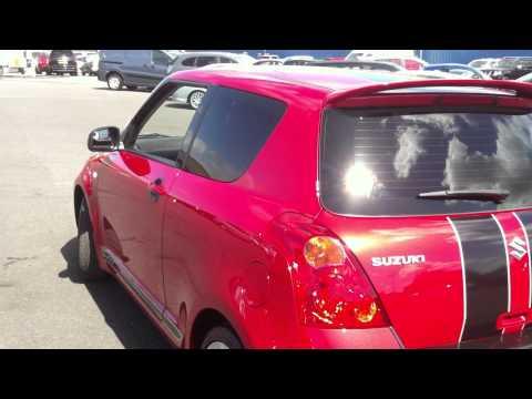 SUZUKI SWIFT 1.6 VVT SPORT 3DR RED