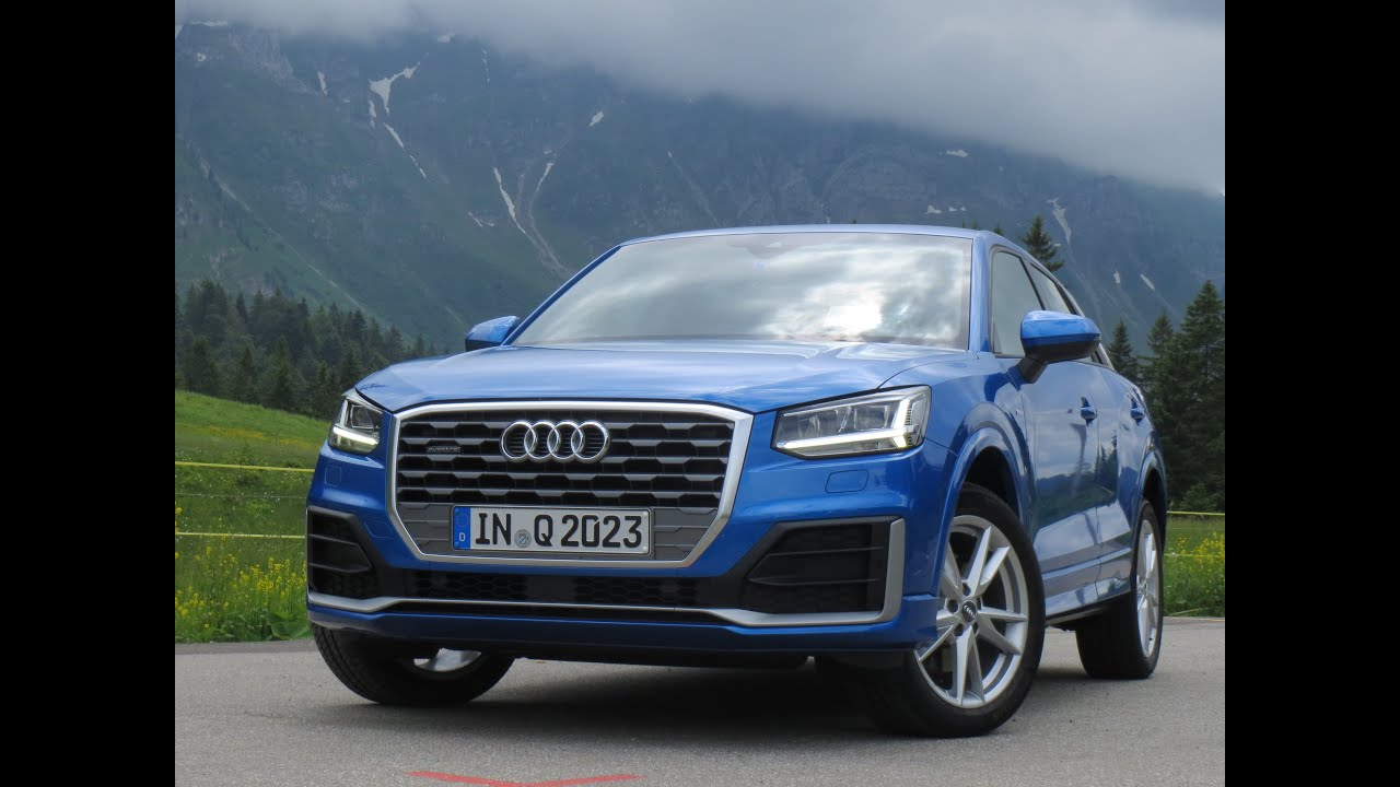 audi q2 2 0 tdi quattro s line test drive on alpine roads pov footage youtube. Black Bedroom Furniture Sets. Home Design Ideas