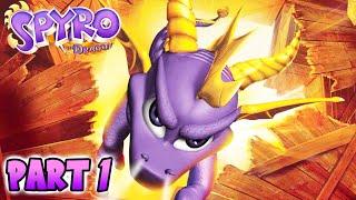 Spyro the Dragon - Part 1 'The World of Dragons' (Spyro PS1)