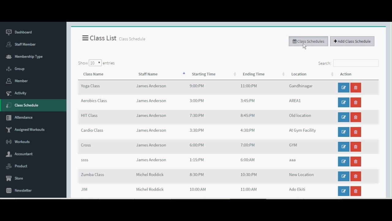 Gym management system youtube gym management system ccuart Images
