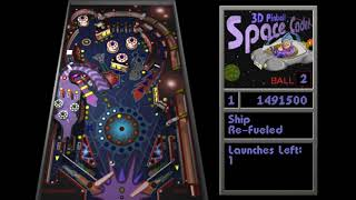 Pinball para Windows Space Cadet