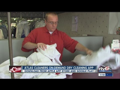 Atlas Cleaners launches city's first on-demand dry cleaning app