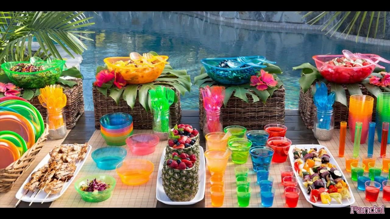 Beach Party Decoration Ideas For Adults Youtube