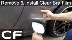 How to Remove & Install Clear Bra Stone Guards - DIY Tutorial on Porsche 911