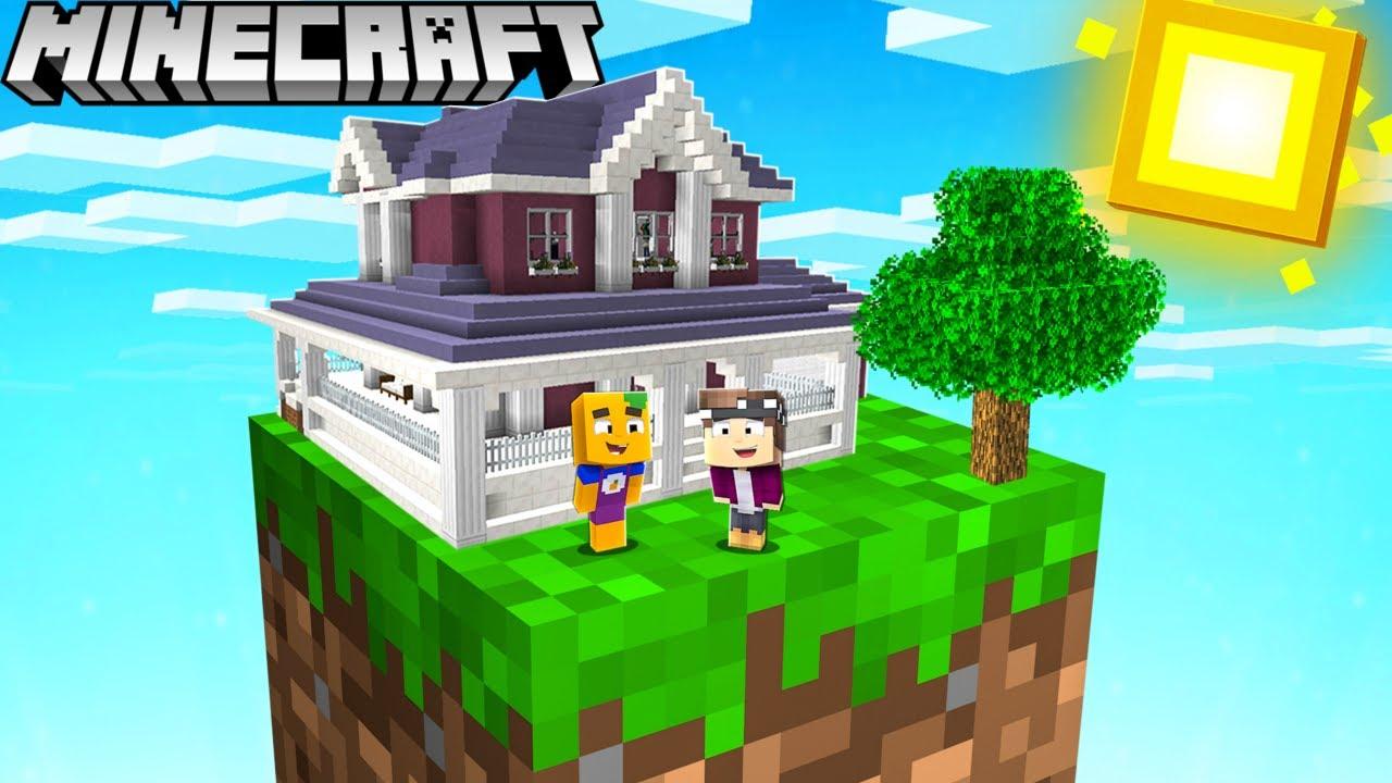Download Mein HAUS ist in 1 BLOCK EINGESPERRT in Minecraft!