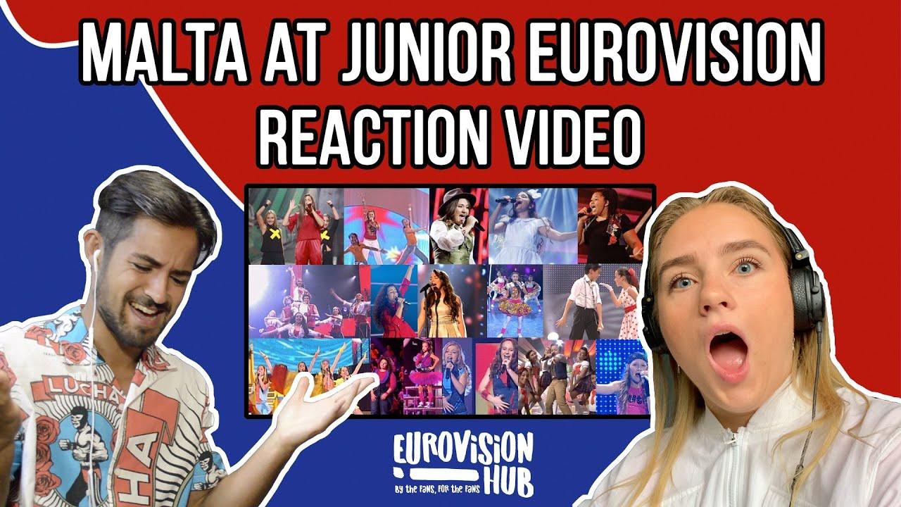 Malta at Junior Eurovision (Reaction Video) | Eurovision Hub