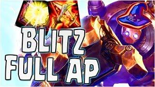 FULL AP BLITZCRANK! (League of Legends)