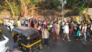 Children's rally for housing and the City's silence: Intl Human Rights Day, Mumbai