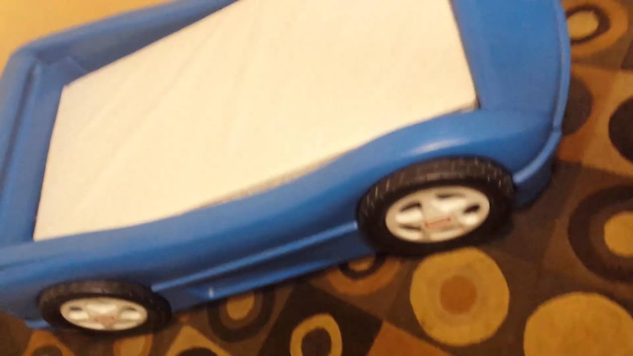 Lil Tikes Car Bed Youtube