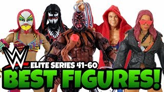 BEST WWE Action Figures From Elite 41 - 60