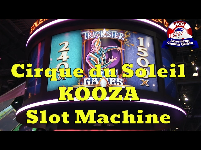 Kooza slot machine