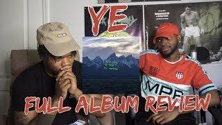 Kanye West - YE - FULL ALBUM REACTION/REVIEW