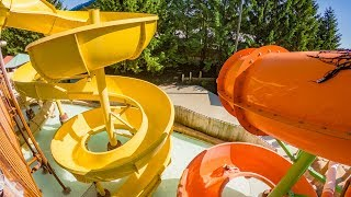 Cool Kids Water Slides at Baboon Lagoon | Zoombezi Bay Columbus OH