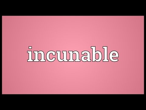 Header of incunable