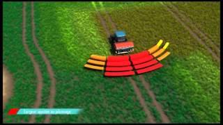 Sulky SYSTEM ECONOV dla rozsiewaczy nawozów X40 i X50 - z GPS