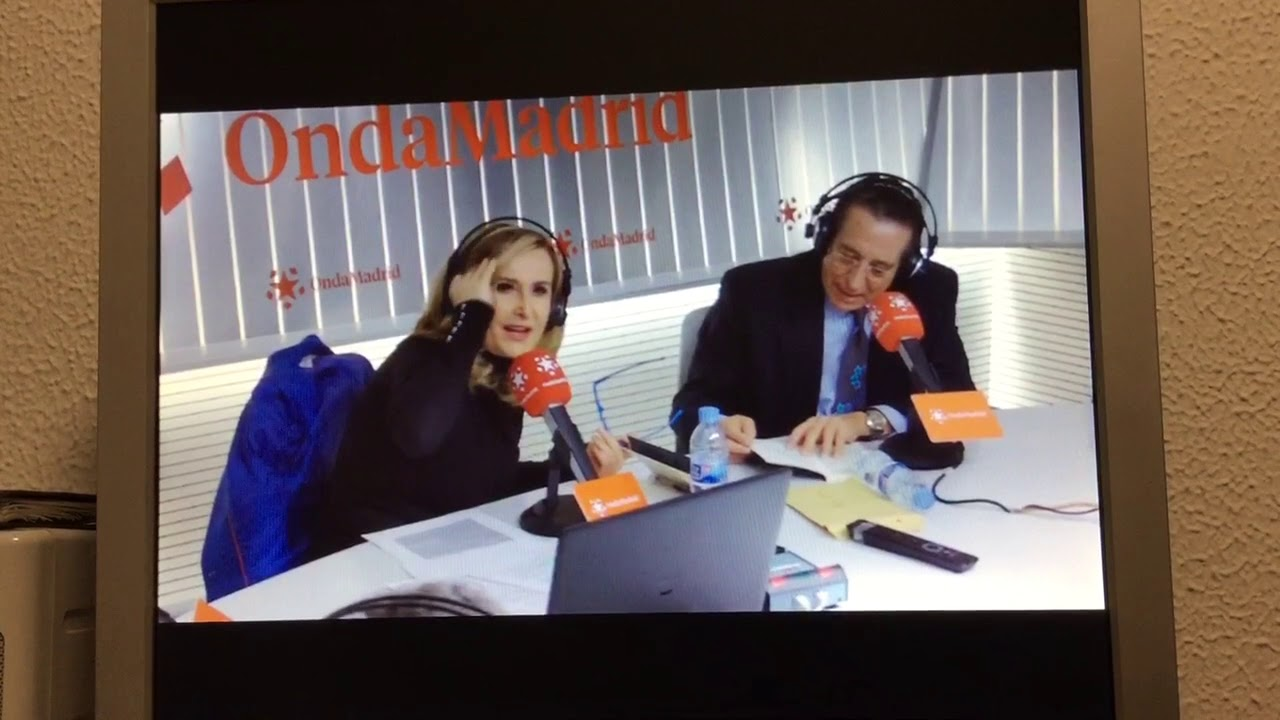 Roberto Banos.Entrevista Nieves Herrero Onda Madrid A Roberto Banos Youtube