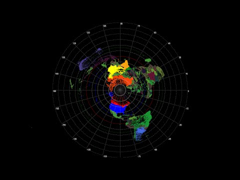 Latest Flat Earth Map 2016 !! (Full Version)
