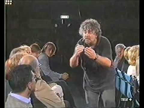 Le migliori gag di Beppe Grillo!!!