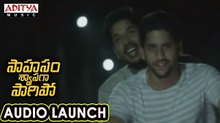 Download Hindi Video Songs - Kannula Munde Song Launch At Saahasam Swaasaga Saagipo Audio Launch | AR Rahman | Naga Chaitanya