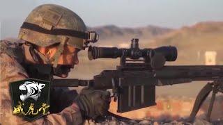空降兵特战旅曝光新型大口径狙击步枪 能超远程杀敌!「威虎堂」20201219 | 军迷天下 - YouTube