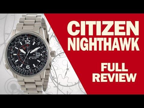 citizen bj7019 62e promaster sky nighthawk unboxing doovi. Black Bedroom Furniture Sets. Home Design Ideas