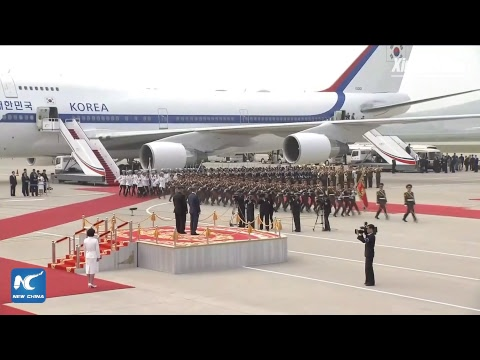 LIVE: South Korean president arrives in Pyongyang for inter-