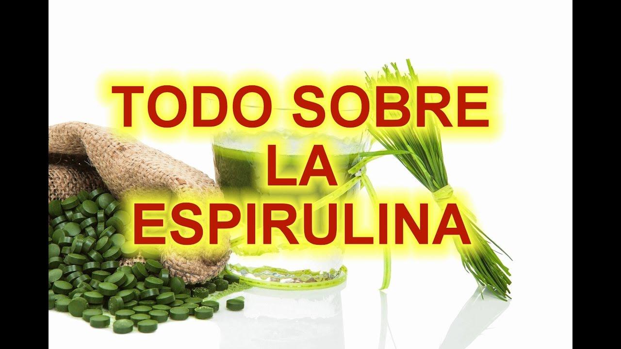 Contraindicaciones de la espirulina para adelgazar