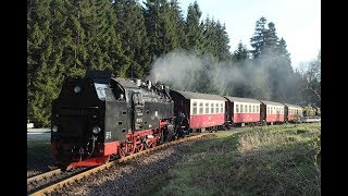 DDE085110 Mountain Harz Railways narrow gauge steam locomotive 99-7247 ドイツの狭軌蒸気機関車 독일 협궤 탱크식 증기 기관차