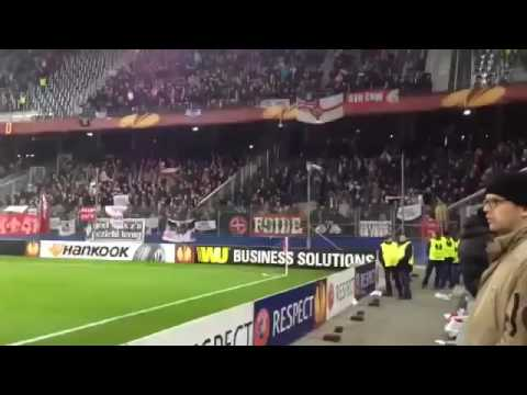 Ajax fans - three little birds