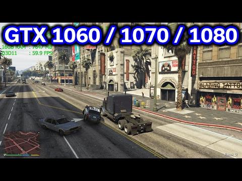 GTA V - GTX 1060 vs 1070 vs 1080 - 1440p vs 2160p - i7-7700k - Benchmark