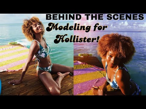BTS: Modeling for Hollister in The Bahamas! 🌺