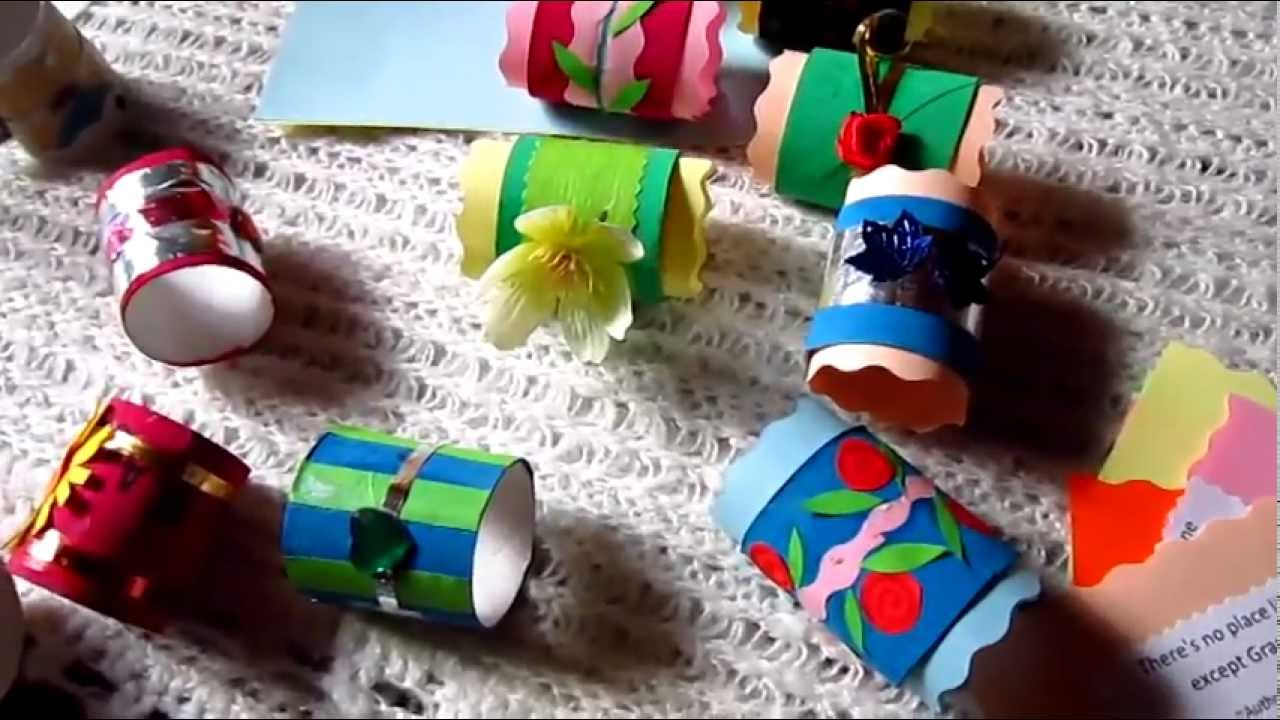 Arts And Crafts Using Toilet Paper Rolls