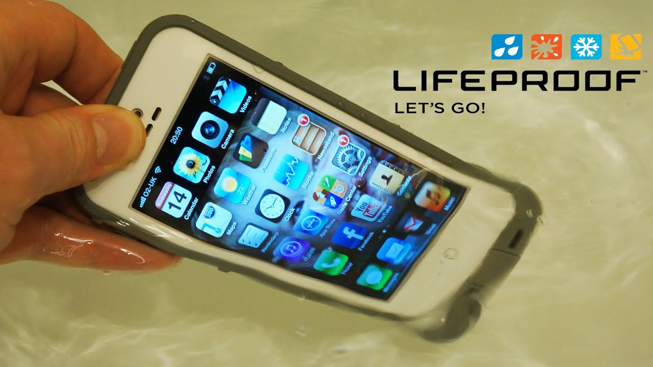 Lifeproof Iphone 5s Case: Lifeproof IPhone 5S / 5 Case Review With Water Test
