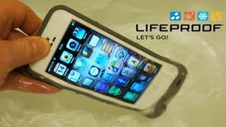 lifeproof iphone se 5s 5 case review with water test