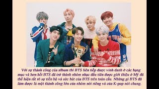 BTS đã mang K-pop phủ sóng nền âm nhạc toàn cầu như thế nào? (Phần 1)