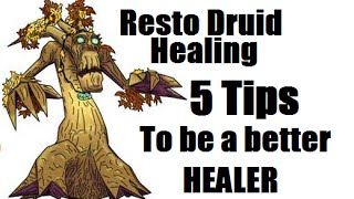 Resto Druid Guide How Be Great Healer Wod Pve