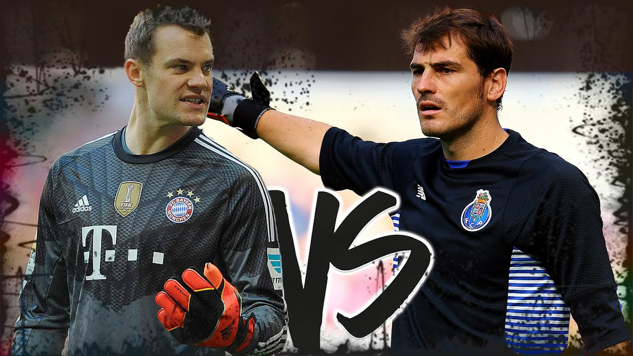 Manuel Neuer VS Iker Casillas | Taça Rap