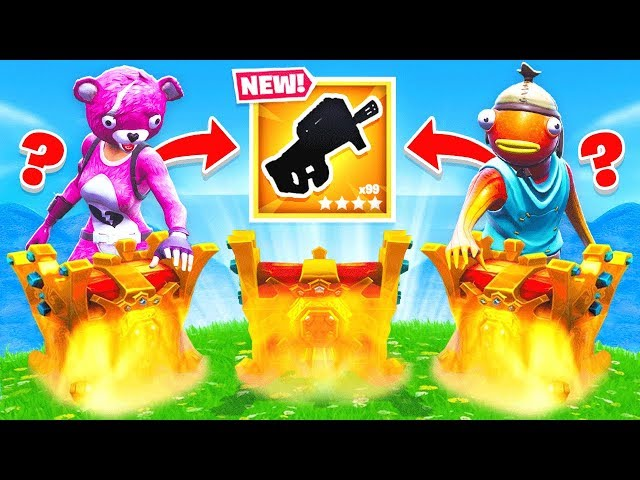 RANDOM LEGENDARY Chest LOOT WARS *NEW* Game mode in Fortnite Battle Royale
