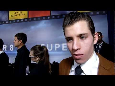 Super 8 Bluray Launch Red Carpet  Beau Knapp