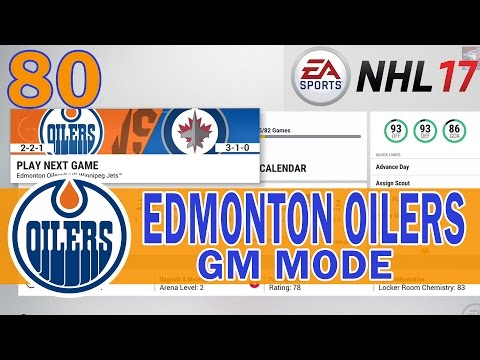 WE ARE THE UNDERDOGS | NHL 17 Edmonton Oilers Franchise Mode Commentary Ep 80