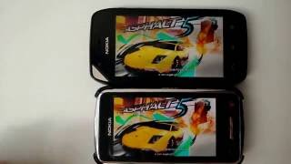 New version of Asphalt 5 HD loading speed vs old version