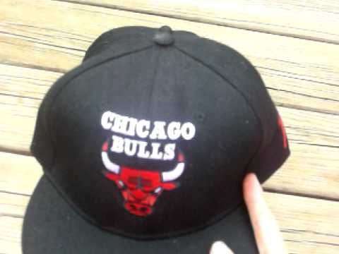 Black Chicago Bulls Tisa Snapbacks for Sale - YouTube d2b7283630fa