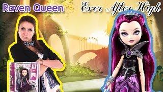 Обзор на Raven Queen Ever After High (Рейвен Квин Школа долго и счастливо) BBD42 на Русском языке