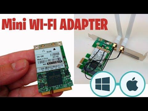 Mini PCI-E to PCI-E 1X Desktop Adapter Convertor