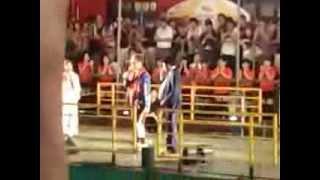 2013年8月18日 大阪ミナミにて ひっかけ橋のとこで盆踊りの祭やっていた...