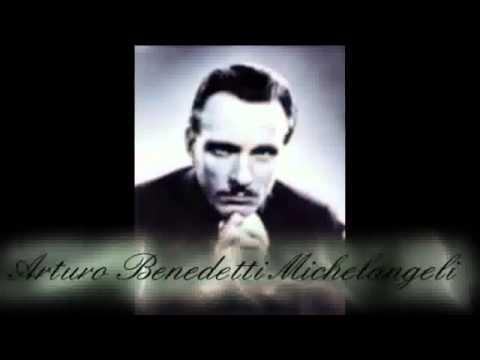 BACH/BUSONI - CIACCONA - Piano: Arturo Benedetti MICHELANGELI